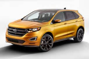 Suv Ford Edge Ford Edge Suv 2015 Specs Prices And Release Date