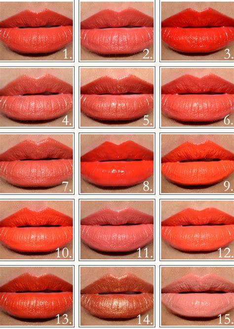 Lipstik Orange the summer season orange lipsticks lipglosses up
