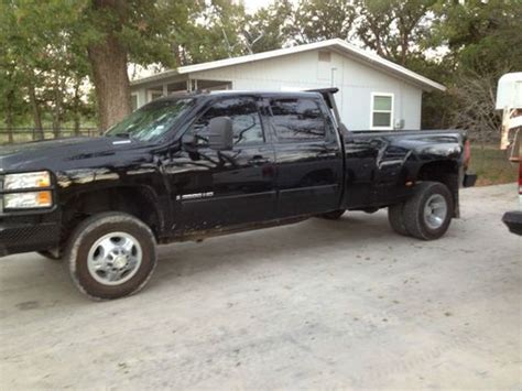 2008 chevrolet silverado 3500 for sale used cars for sale sell used 2008 chevrolet silverado 3500 hd ltz crew cab pickup 4 door 6 6l in mertzon texas
