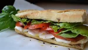 fresh summer taste caprese sandwich steering your health