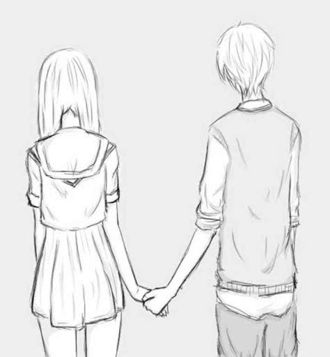 Drawings Of Anime Couples