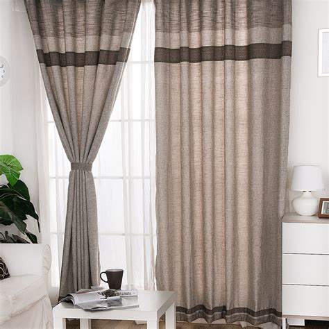 living room ready made curtains