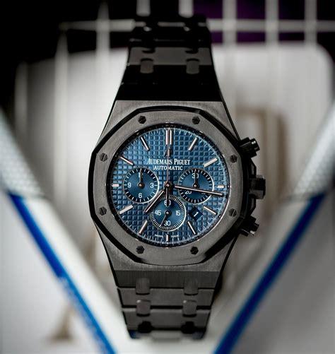 Audemars Piguet Royal Oak: Blue   Titan Black
