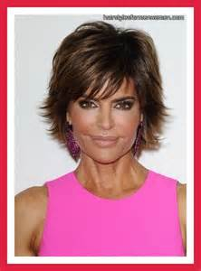insruction on how to cut rinna hair sytle lisa rinna layered hairstyle