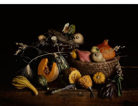 Nature Morte Vanité by Nature Morte Aux Courges By Guido Mocafico Reference