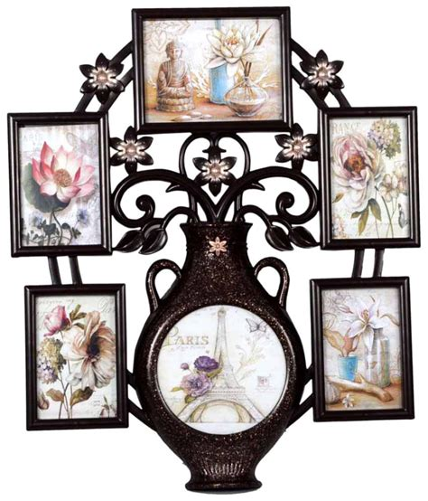 collage photo frame archies collage frames plastic wall hanging brown collage