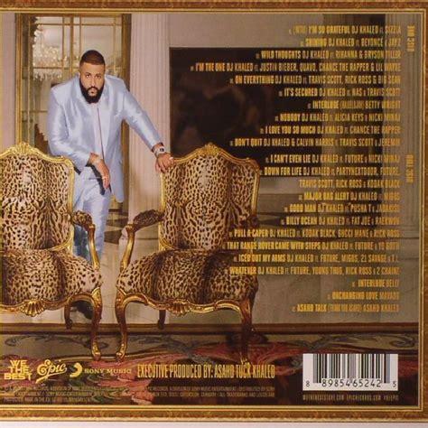 dj khaled cd dj khaled grateful album new 2cd album mp3 320 ebay