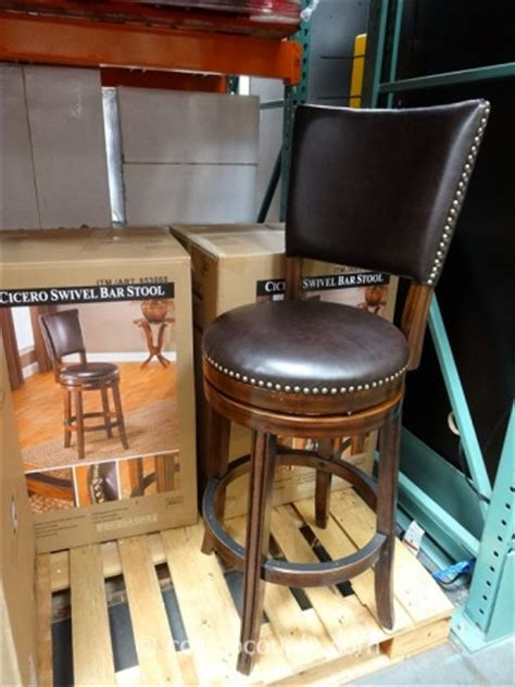 Bayside Swivel Bar Stool by Hillsdale Furniture Cicero Swivel Barstool
