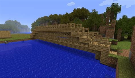minecraft boat bridge minecraft bridge image assassinalex18 indie db