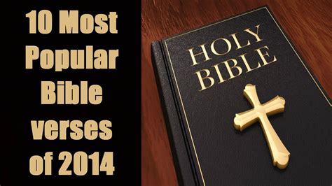 top 10 most popular religious books in the world best to read 10 most popular bible verses of 2014