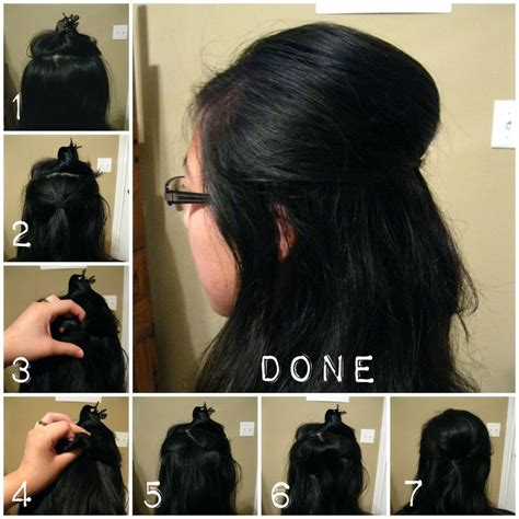 how to do a puff hairstyle steps by step pics for gt how to make puff hairstyle at home without