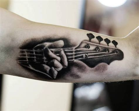 tattoo guitar hand guitar tattoos and designs page 113