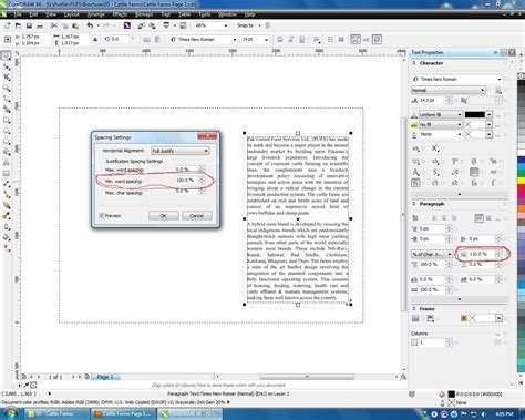 corel draw x4 open illustrator fonts text alignment issues when opening adobe