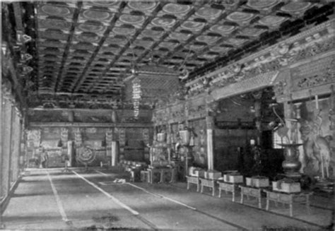 Japanese Temple Interior by Japan Part 30