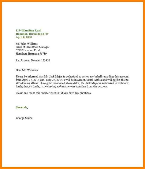 authorization letter to act on my behalf sle letter buy essays from successful essay mission