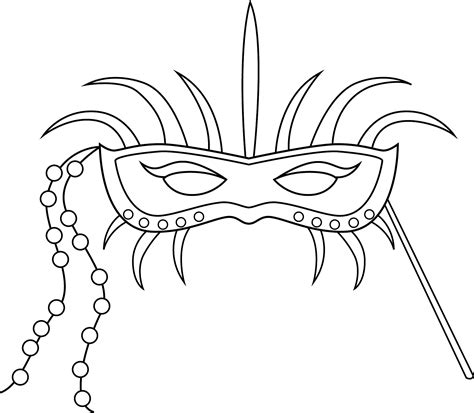 Free Printable Mask Coloring Pages For Kids Masks Coloring Pages