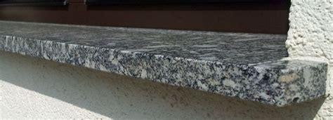 Granit Fensterbank Einbauen Außen by Stein Im Au 223 Enbereich Agglo Naturstein Naumann