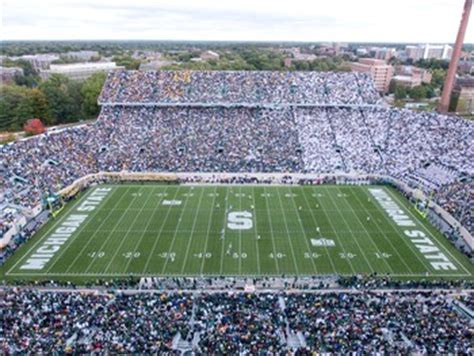 msu student section football tickets stadium guide spartan stadium michigan state crystal