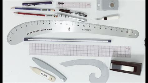 pattern drafting materials my drafting tools fashion pattern making youtube