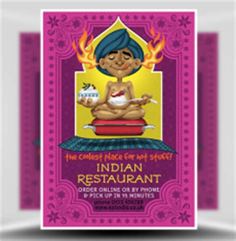 indian menu templates business flyer templates for corporate events and