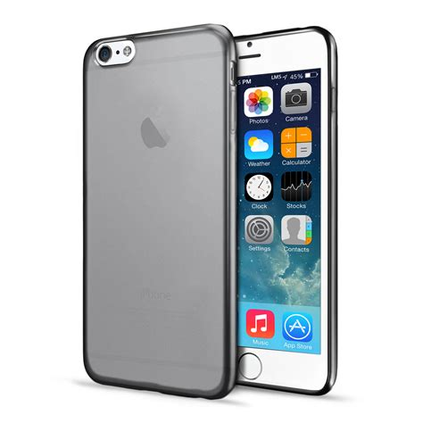 Back Cover Iphone 6 4 7 black tpu soft silicone clear gel back cover for