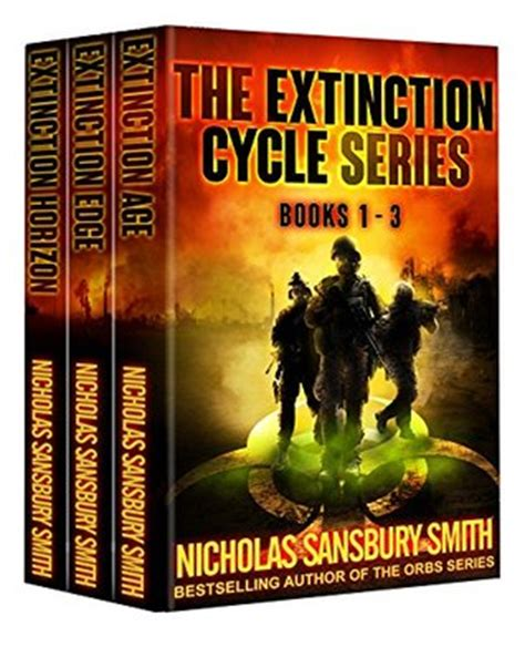 the extincts series 1 the extinction cycle series box set books 1 3 by nicholas