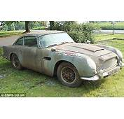 Wrecked Aston Martin Might Not Be Fit For James Bond But