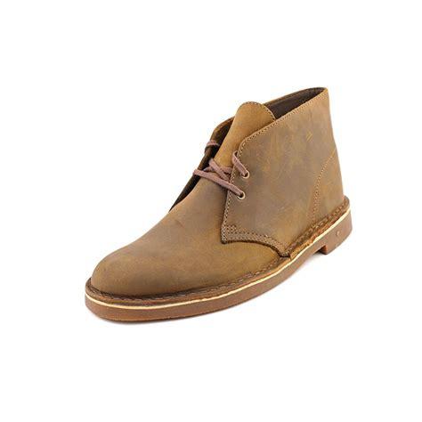 clarks bushacre 2 nubuck leather chukka boots ebay