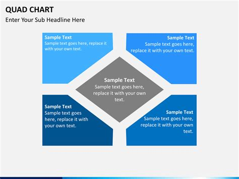powerpoint quad chart amazing powerpoint quad chart template gallery exle