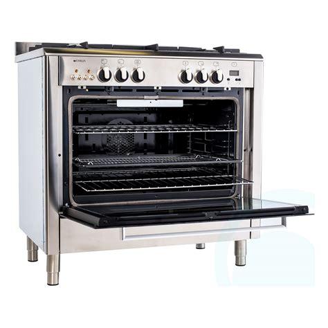 Oven Gas Di Pekanbaru freestanding emilia gas oven stove di965mvi3 home clearance