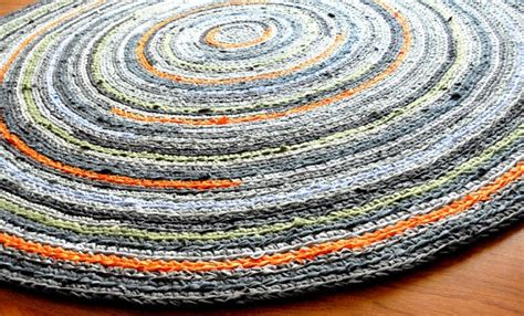 crochet rugs with fabric strips crochet rug made from fabric strips fabrics