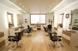 mitra salon interior design by alef design agency