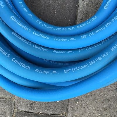 continental blue rubber water hose
