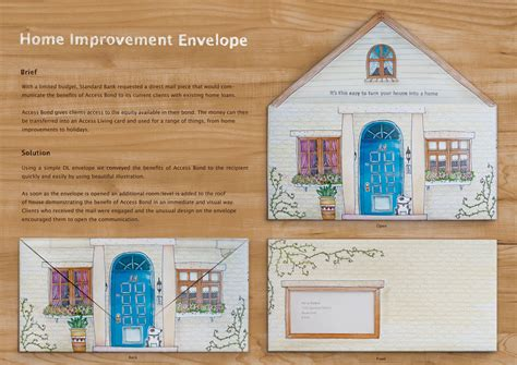 standard bank home improvement envelope ads of the world
