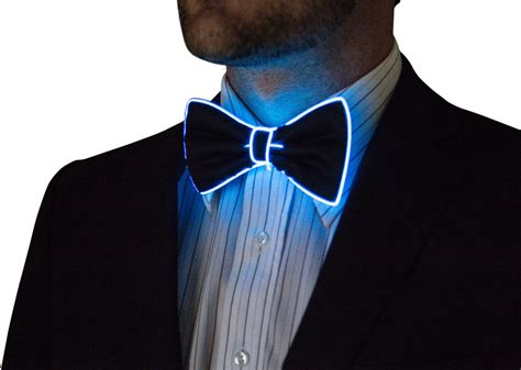 Light Up Tie by Light Up Bow Tie Neck Glow In The Light Up Wear