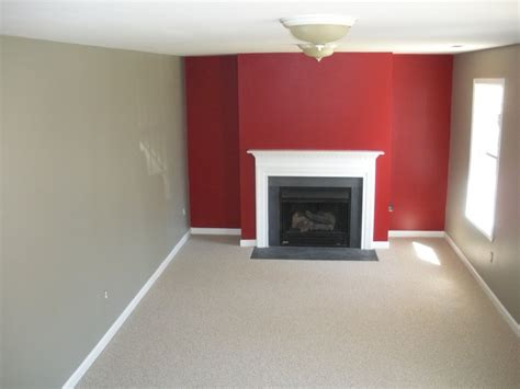 red accent walls benjamin moore caliente red rockport gray and wilmington