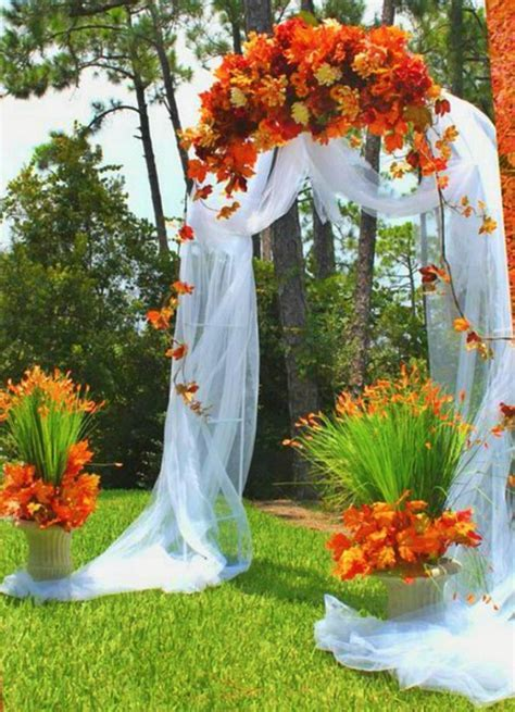 fall wedding arches   Wedding Stages ?????*?*   Fall