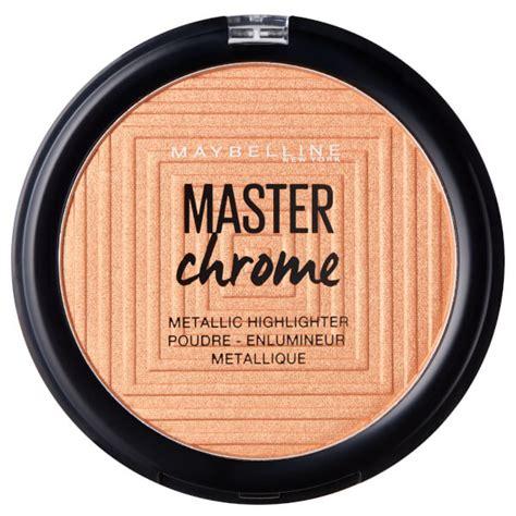 Maybelline Highlighter Powder maybelline master chrome metal highlighting powder 100