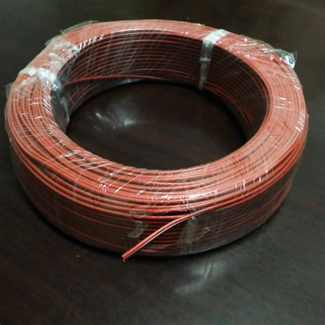 2 copper wire 10meters lot 22awg pvc insulated wire 2pin tinned copper cable electrical wire for led