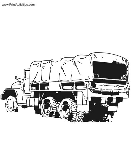 coloring pages of army trucks army truck coloring pages coloring pages ideas reviews