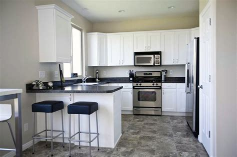 second hand kitchens cabinets astounding kitchen flooring ideas with dark cabinets