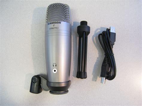 Cabel Samson samson c01u pro usb microphone review the gadgeteer