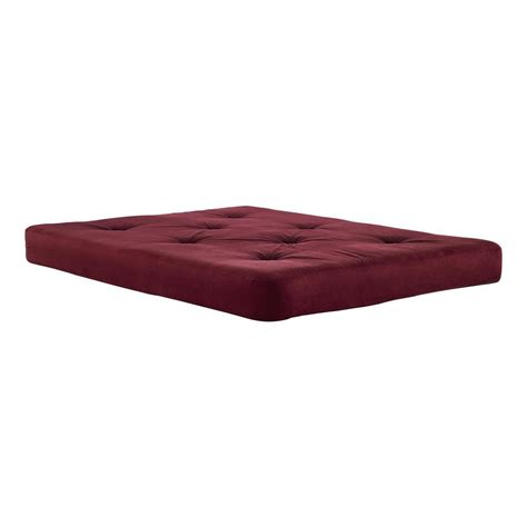 futon foam dhp 6 in coil futon full size mattress with certipur us