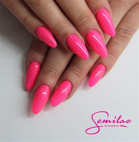 Pink Lebong 2 Pl 043 pinknails semilac longnails gelnails neon
