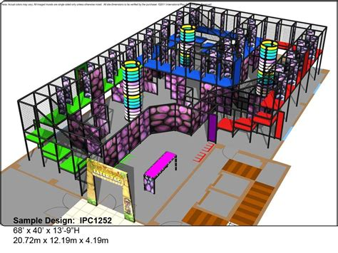 laser tag floor plan interactive play a ok playgrounds indoor playground