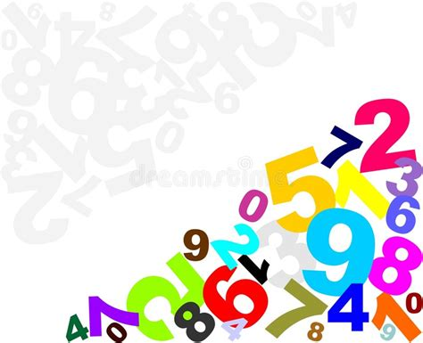 background design numbers numbers background stock images image 7692384