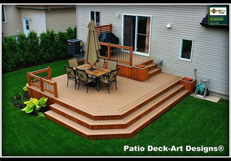 patio deck designs outdoor living traditional deck montreal by patio deck