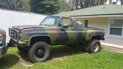reduced  chevy cucv  military truck turbo