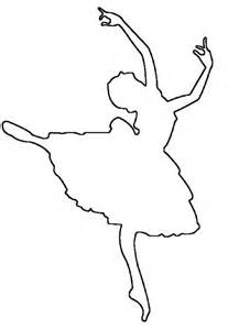 Dancer Outline by Free Saw Patterns Easy Craft Projects