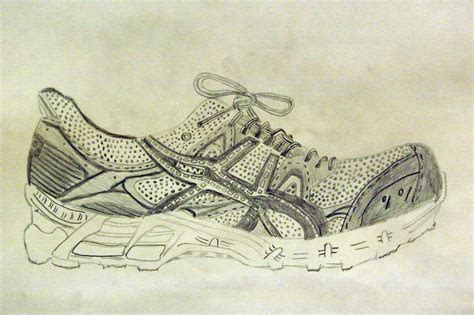 Drawing 7th Class by 7th Grade Shoe Observation Drawing Lesson Ideas